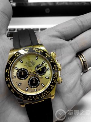 Keep Working And Buy a ROLEX--116518LN圆梦