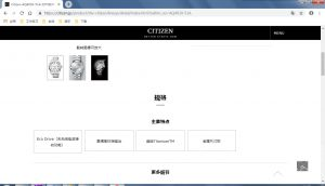 西铁城The Citizen系列目前最高公价腕表AQ4030-51A作业