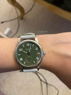 Nomos CLUB AUTOMATIC OLIVE 175绿盘限定开箱